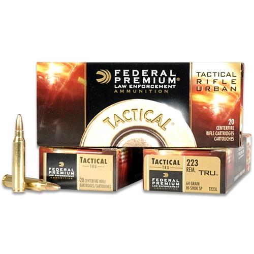 Federal Tactical TRU 223 Remington Ammo 55 Grain Soft Point