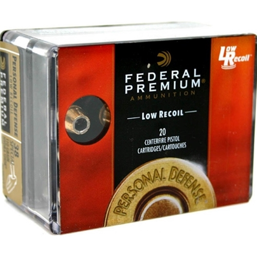 Federal Personal Defense 45 ACP AUTO Ammo 230 Grain Hydra-Shok Jacketed Hollow Point