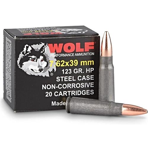 Wolf 7.62x39mm 123 Grain FMJ