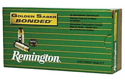 Remington Golden Saber LE 45 ACP AUTO 230 Grain Bonded Brass Jacketed Hollow Point