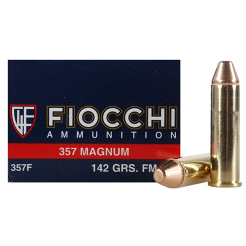 Fiocchi Shooting Dynamics 357 Magnum Ammo 142 Grain Full Metal Jacket