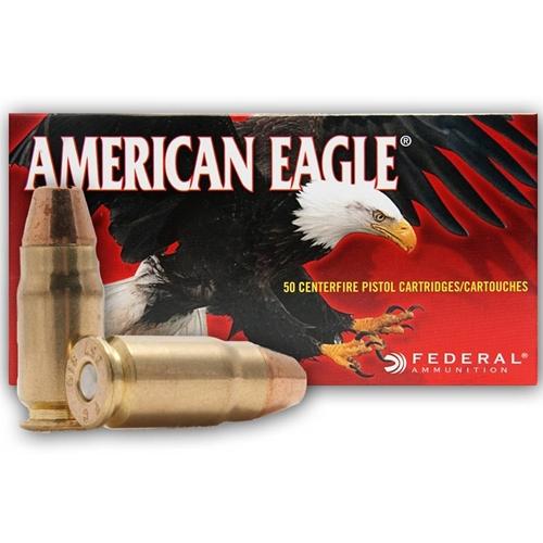 Federal American Eagle 357 SIG Ammo 125 Grain Full Metal Jacket