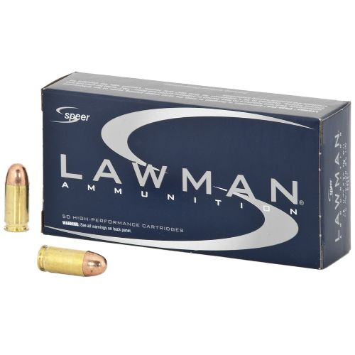 Speer Lawman 380 ACP AUTO Ammo 95 Grain Full Metal Jacket