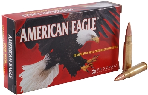 Federal American Eagle 308 Winchester Ammo 150 Grain Full Metal Jacket
