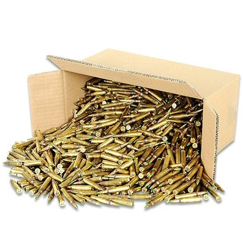 Federal Lake City 5.56mm NATO Ammo 62 Grain Green Tip Penetrator 1000 Rounds Bulk