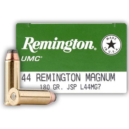 Remington UMC 44 Remington Magnum 180 Grain JSP