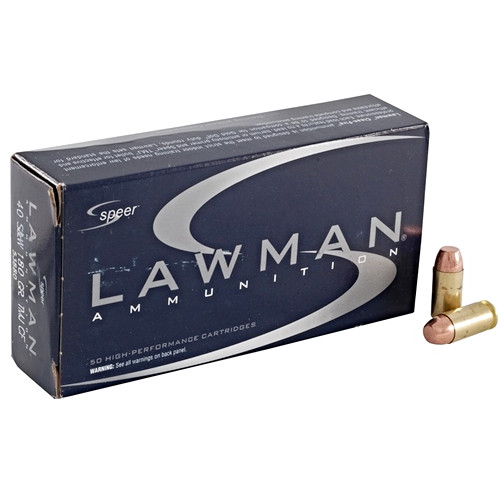 Speer Lawman 40 S&W 180 Grain TMJ