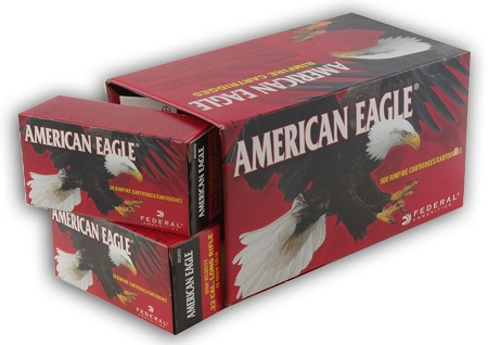Federal American Eagle 22 LR Ammo 40 Grain Lead Round Nose