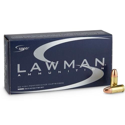 Speer Lawman 9mm Luger 147 Grain TMJ
