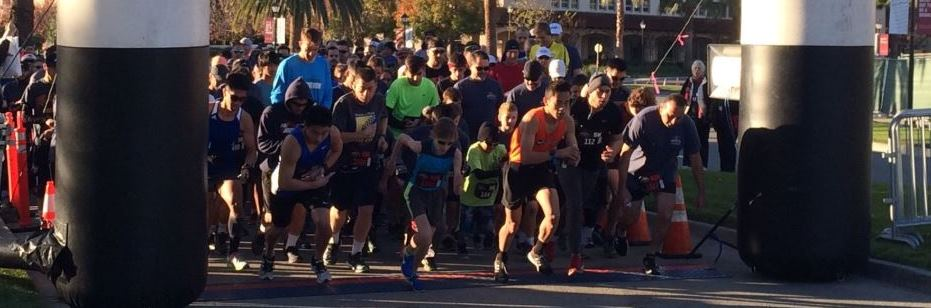 Runners at The Firehouse Run
