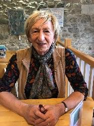 Rachel Isherwood at Swarthmoor Hall cafe