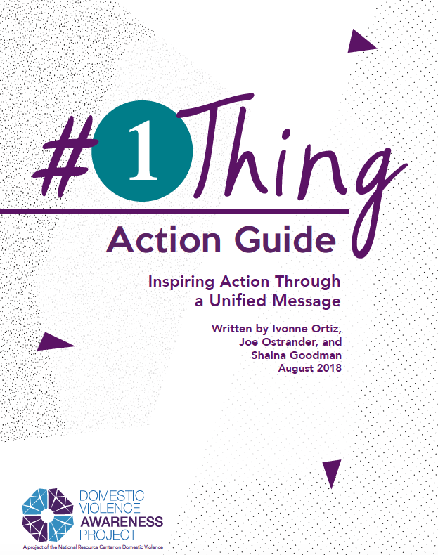 #1Thing Action Guide: Inspiring Action Through a Unified Message