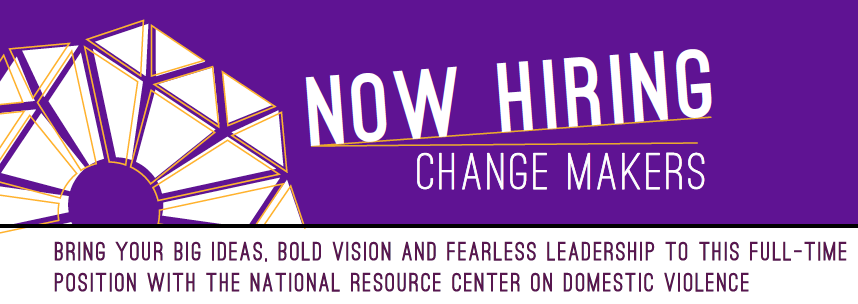 Now hiring Change makers