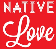 red background with white text that says Native Love
