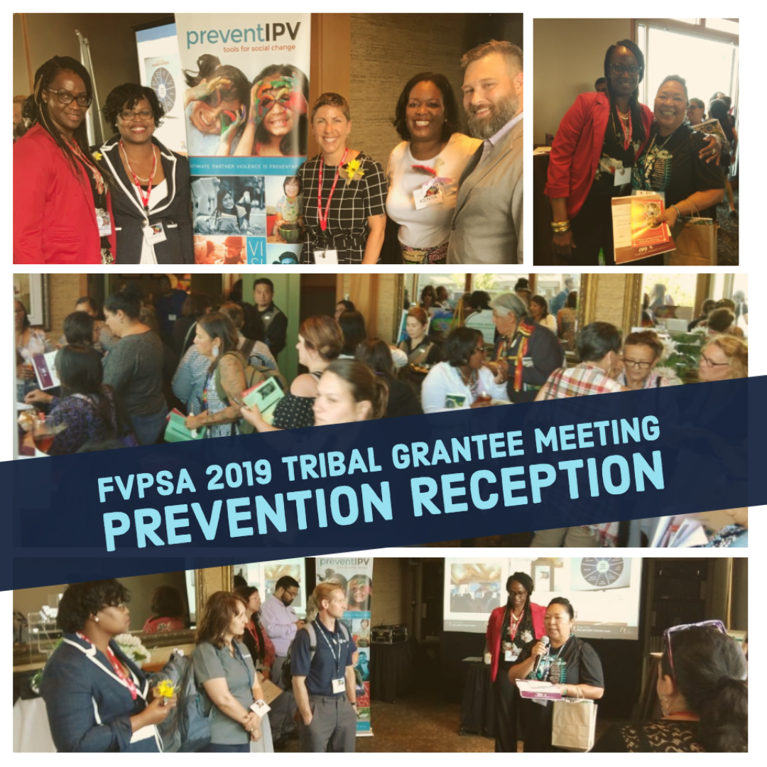 Collage of photos from the Prevention Reception