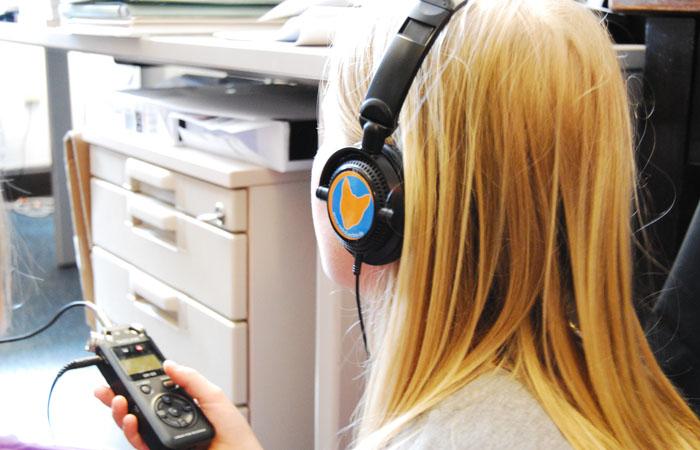 Wollt ihr auch mal mit Kopfhörern und Aufnahmegerät unterwegs sein?