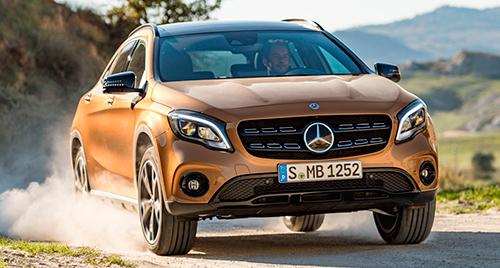 Mercedes-Benz GLA 2017