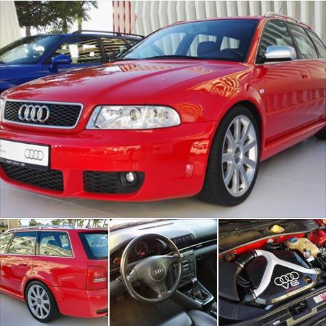 El Audi RS 4 Avant B5 estuvo en venta entre 1999 y 2001.