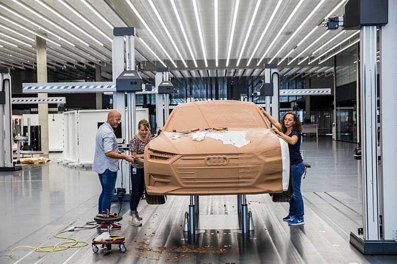 Diseño del Audi A7 Sportback.