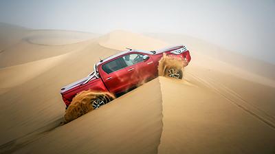 Namibia en un Toyota Hilux y 115 fotos Reportaje