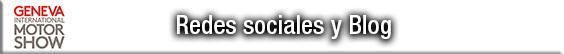 Redes sociales y blogs