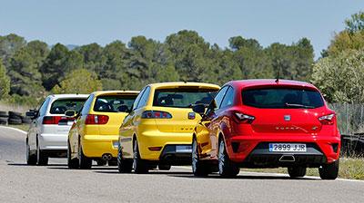 SEAT Ibiza CUPRA 20º aniversario Reportaje