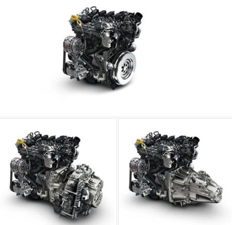 Nuevo motor de gasolina de cuatro cilindros de Renault