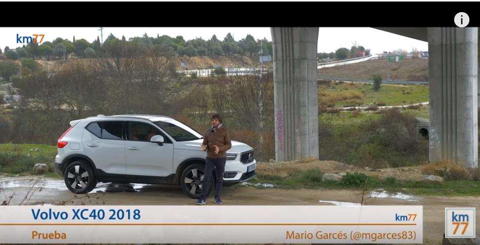 Volvo XC40 2018 - Prueba (test)
