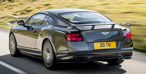 Bentley Continental GT y GTC 2017