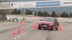 Mazda 3 2017 - Maniobra de esquiva (moose test) y eslalon