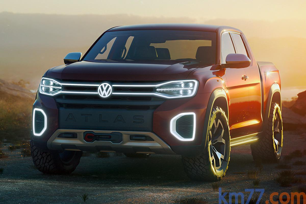 Volkswagen Atlas Tanoak (prototipo)