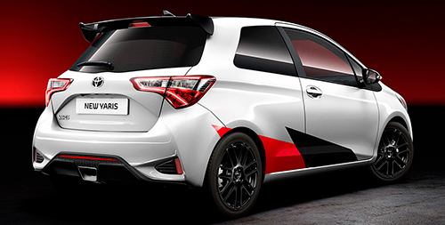 Toyota Yaris Sport 2017