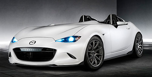 Mazda MX-5 Speedster Evolution prototipo
