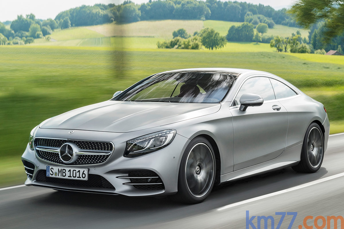 Mercedes-Benz Clase S Coupé y Clase S Cabrio 2018