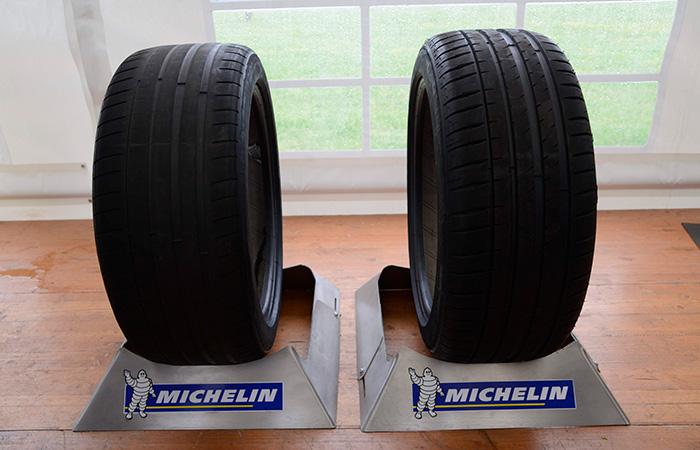 Neumáticos desgastados: ¿peligrosos, o no?