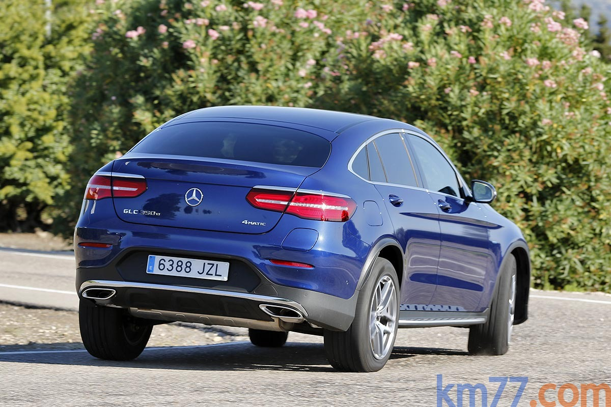 Mercedes-Benz GLC 350 e 4MATIC Coupé 2017