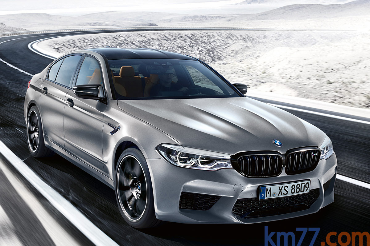 BMW M5 Competition (2018)
