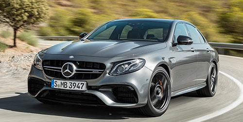 Mercedes-AMG E 63 4MATIC+ y 63 S 4MATIC+ 2017