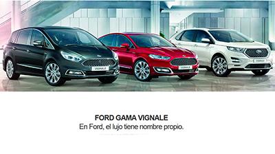 En Ford, el lujo tiene nombre propio.