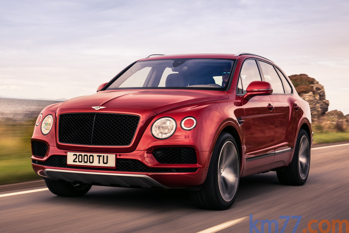 Bentley Bentayga V8 549 CV (2016)