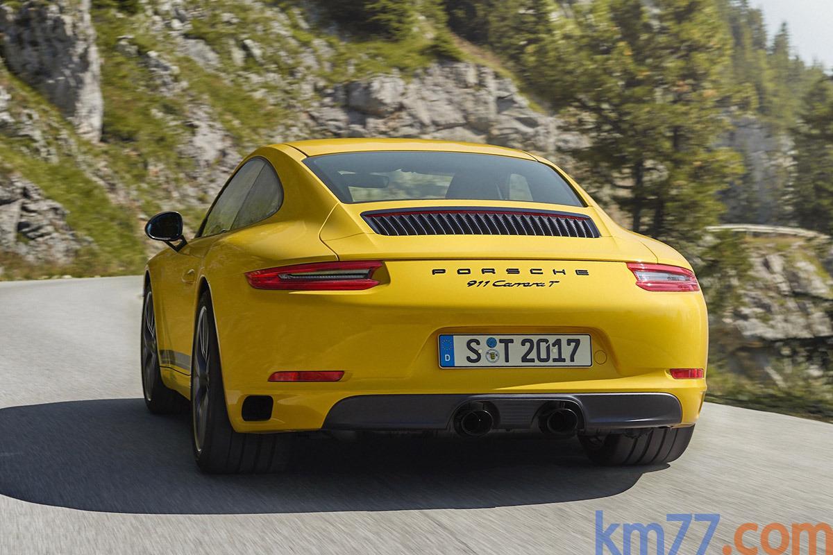 Porsche 911 Carrera T (2017)