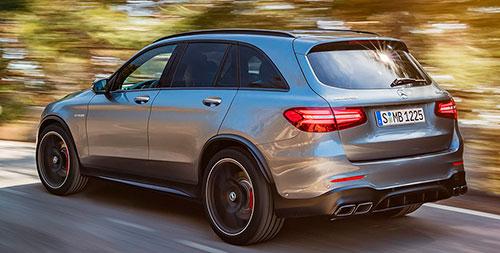 Mercedes-AMG GLC 63 4MATIC+ y GLC 63 S 4MATIC+ 2017