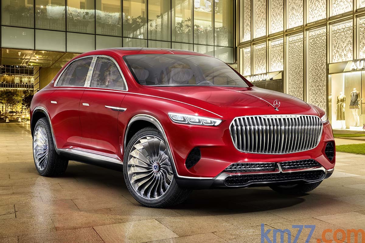 Mercedes-Benz Vision Mercedes-Maybach Ultimate Luxury (prototipo)