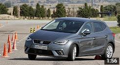 SEAT Ibiza 2017 - Maniobra de esquiva (moose test) y eslalon