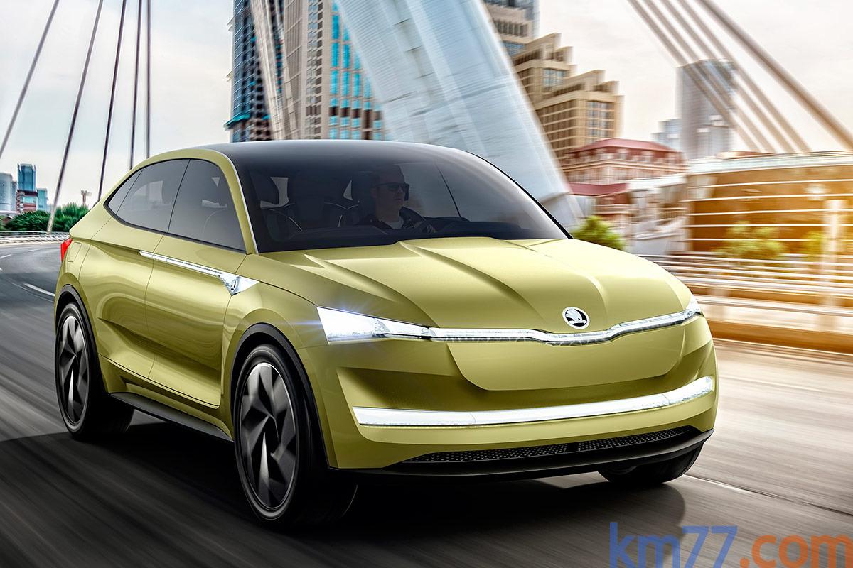 Škoda Vision E Concept