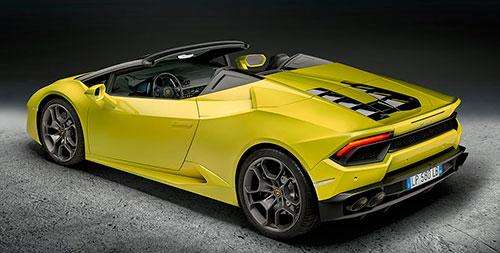 Lamborghini Huracán Spyder RWD 2017