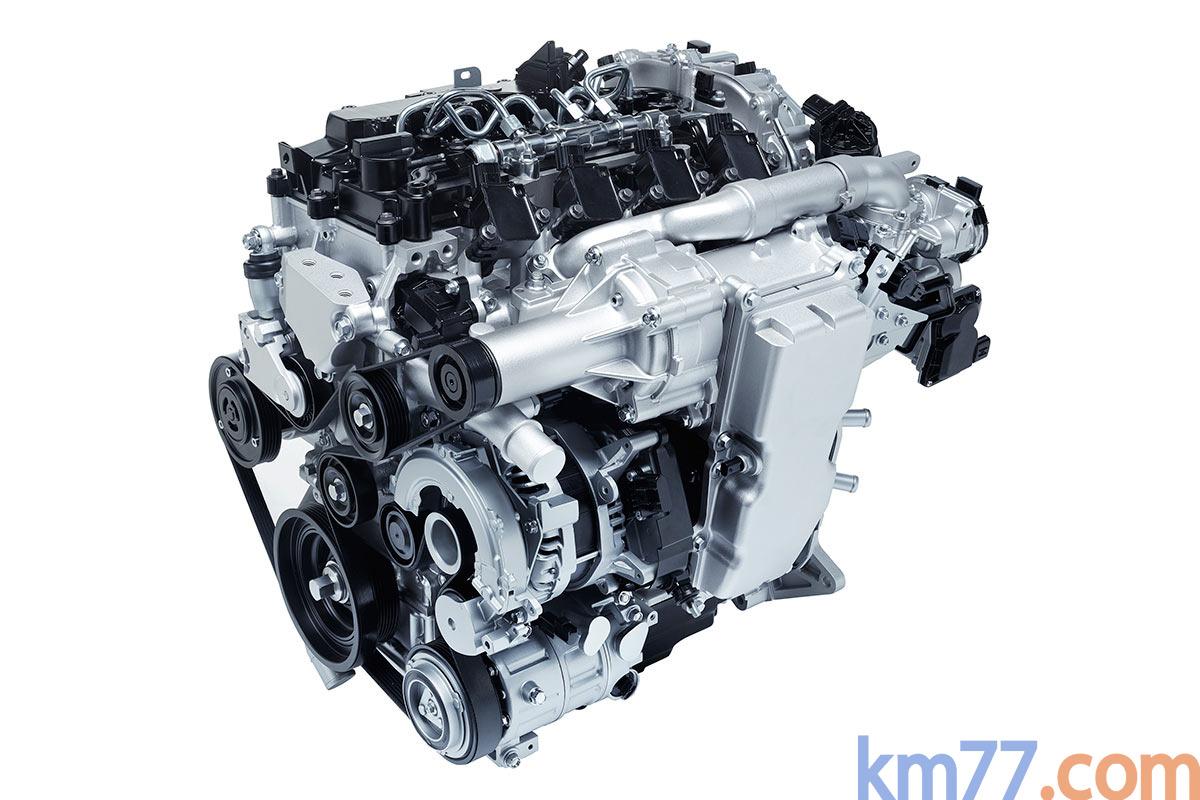 Mazda Técnica Skyactiv-X (2017)
