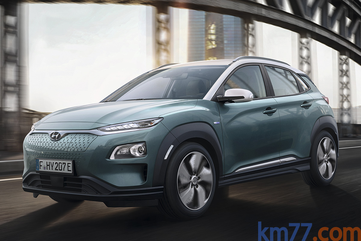 Hyundai KONA Eléctrico(2018)