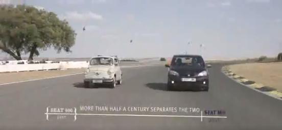 En este vídeo, SEAT compara de forma divertida algunos aspectos del mítico 600 y del Mii