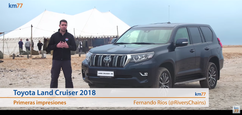 Toyota Land Cruiser 2018/Toyota Prado 2018 - Primeras impresiones
